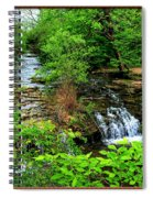 Serenity With Frame Spiral Notebook