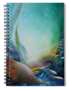 Serpula Spiralis Spiral Notebook