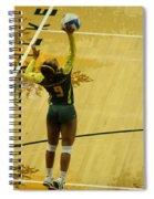 Serving The Match Spiral Notebook