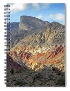 Setting Desert Sun Spiral Notebook