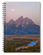 Setting Moon Spiral Notebook