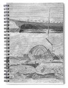 Sevastopol: Diver, 1858 Spiral Notebook