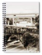 Seven Bridges View Spiral Notebook