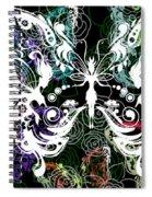 Seven Butterflies Spiral Notebook