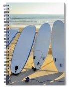 Seven Surfboards Spiral Notebook