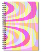 Seventies Swirls Spiral Notebook