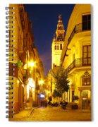 Sevilla At Night Spiral Notebook