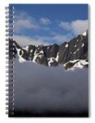 Seward Mountain Range Spiral Notebook