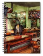 Sewing - Industrial - The Sweat Shop  Spiral Notebook