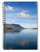 Seydisfjordur Fjord Spiral Notebook