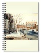 Shaar Hashomayim Westmount Montreal  Spiral Notebook