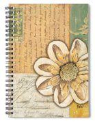 Shabby Chic Floral 2 Spiral Notebook