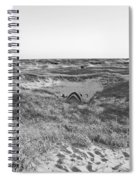 Shackleford Banks Camping Spiral Notebook