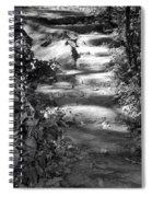 Shaded Steps Spiral Notebook