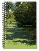 Shades Of Green Spiral Notebook