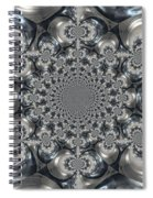 Shades Of Grey 2 Spiral Notebook