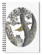 Shades Of Magnolia Spiral Notebook