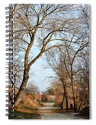 Shadow Cliffs Spiral Notebook