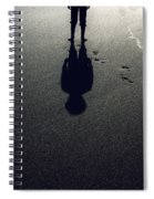 Shadow Spiral Notebook