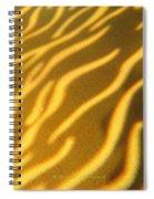 Shadow Light Spiral Notebook