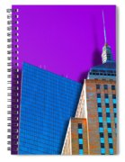 Shadow Of The City Spiral Notebook