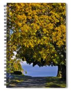 Shadow On The Edge Spiral Notebook