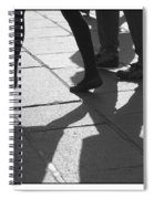 Shadow People Spiral Notebook