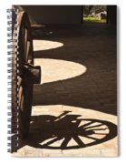 Shadows Spiral Notebook