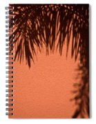 Shadows Of A Palm Spiral Notebook