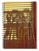 Shadows Of Glamour Spiral Notebook