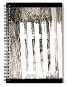 Shadows On The American Dream Spiral Notebook