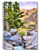 Shady Oasis Spiral Notebook