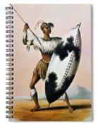 Shaka Zulu (c1787-1828) Spiral Notebook