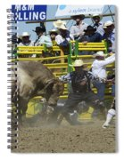 Rodeo Shaking It Up Spiral Notebook