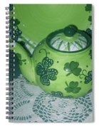 Shamrock Tea Spiral Notebook
