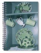 Shamrocks On The Shelf Spiral Notebook
