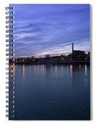 Shannon River Estuary At Limerick Spiral Notebook