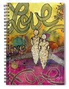 Sharing Grace Spiral Notebook