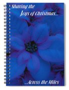 Sharing The Joys Of Christmas Spiral Notebook