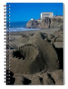 Shark Sculpture Spiral Notebook