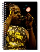 Sharon Jones Spiral Notebook