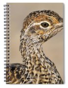 Sharp-tailed Grouse Spiral Notebook