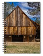 Shasta Barn Spiral Notebook