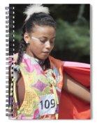 Shawl Dancer 109 Spiral Notebook