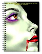 She Gave Her Lover The Gift Of Eternal Life 2 Spiral Notebook