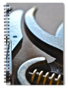 Shears II Spiral Notebook