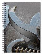 Shears V Spiral Notebook