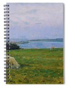 Sheep Grazing Spiral Notebook