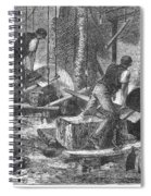 Sheffield: Factory, 1865 Spiral Notebook