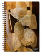 Shell Wind Chimes Spiral Notebook